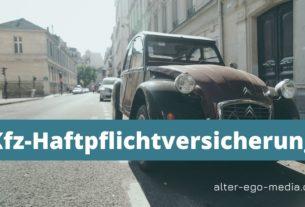 Kfz-Haftpflichtversicherung в Германии