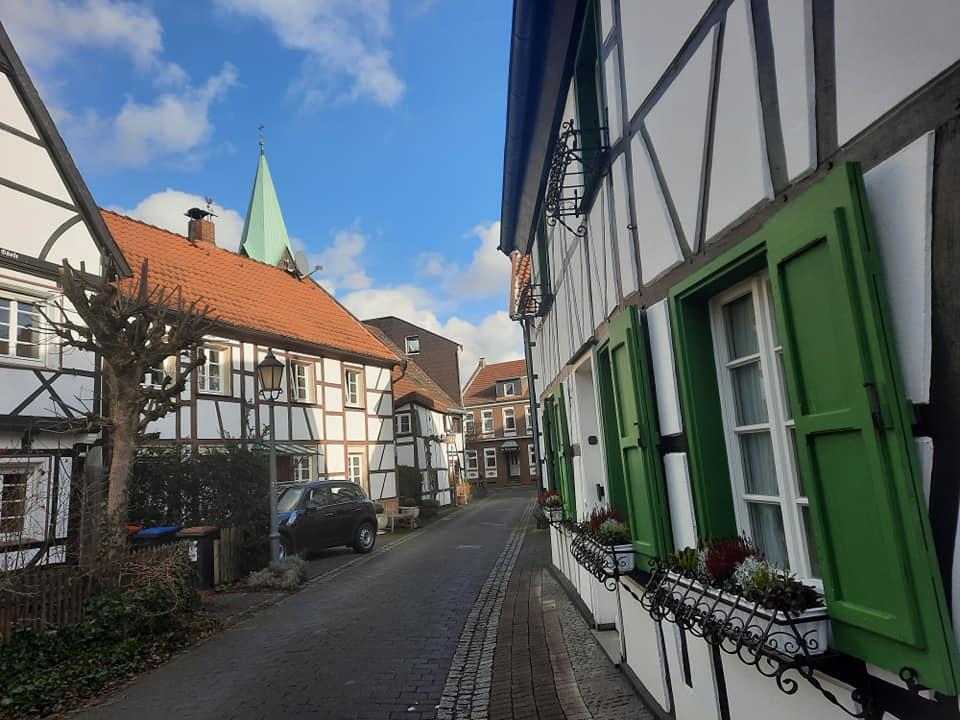 Старая деревня в Хертен Das Alte Dorf Westerholt in Herten