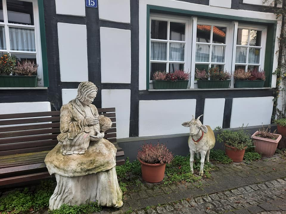 Старая деревня рядом с Реклингхаузеном Das Alte Dorf Westerholt in Herten