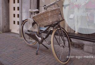 Велосипед с корзиной